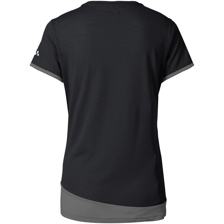Bild von Vaude Sveit Damen Shirt - schwarz uni