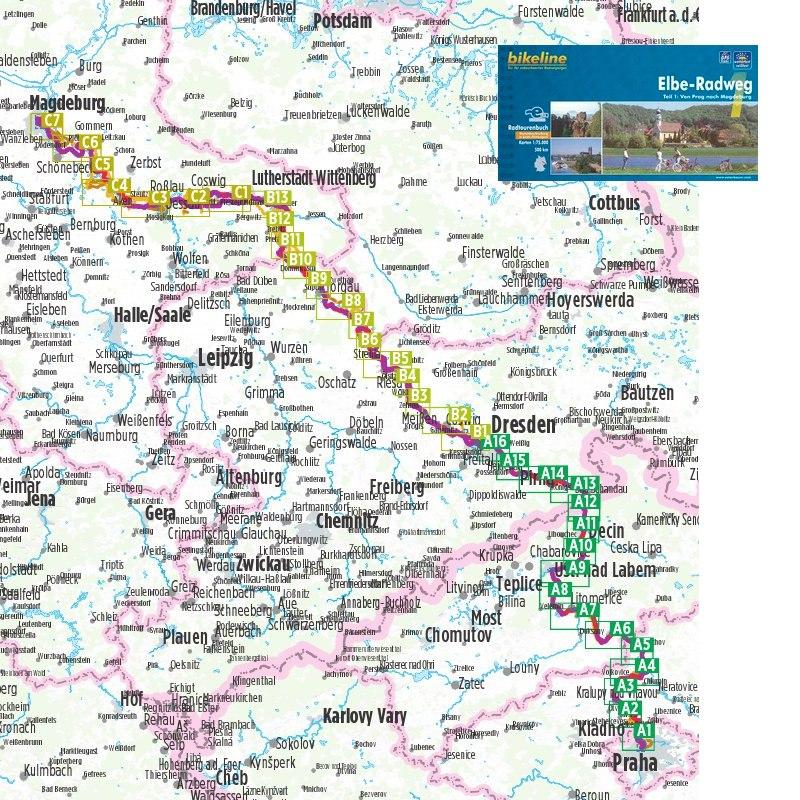 Elbe-Radweg 1 - Von Prag nach Magdeburg