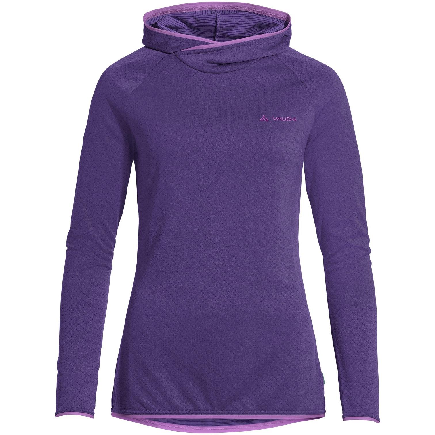 Vaude Miskanti LS T-Shirt II Damen - dark purple