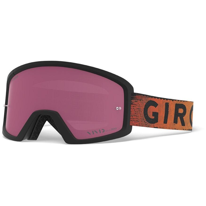 Bild von Giro Blok MTB Vivid Trail Goggle 2020 - black / red hypnotic - vivid trail / clear