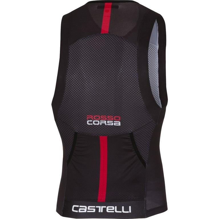 Image of Castelli Free Tri Top 18106 - black 010