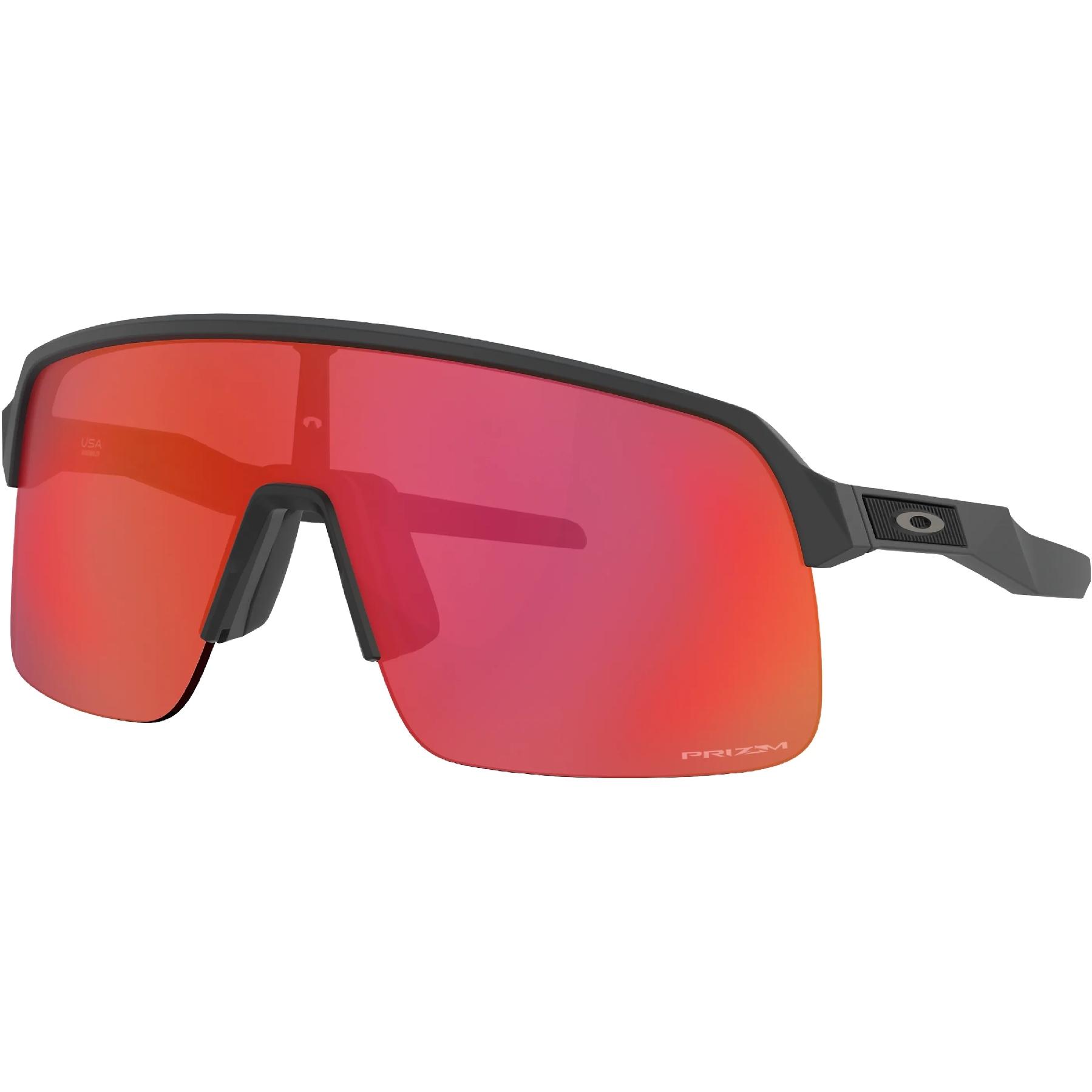 Foto de Oakley Sutro Lite Gafas - Matte Carbon/Prizm Trail Torch - OO9463-0439
