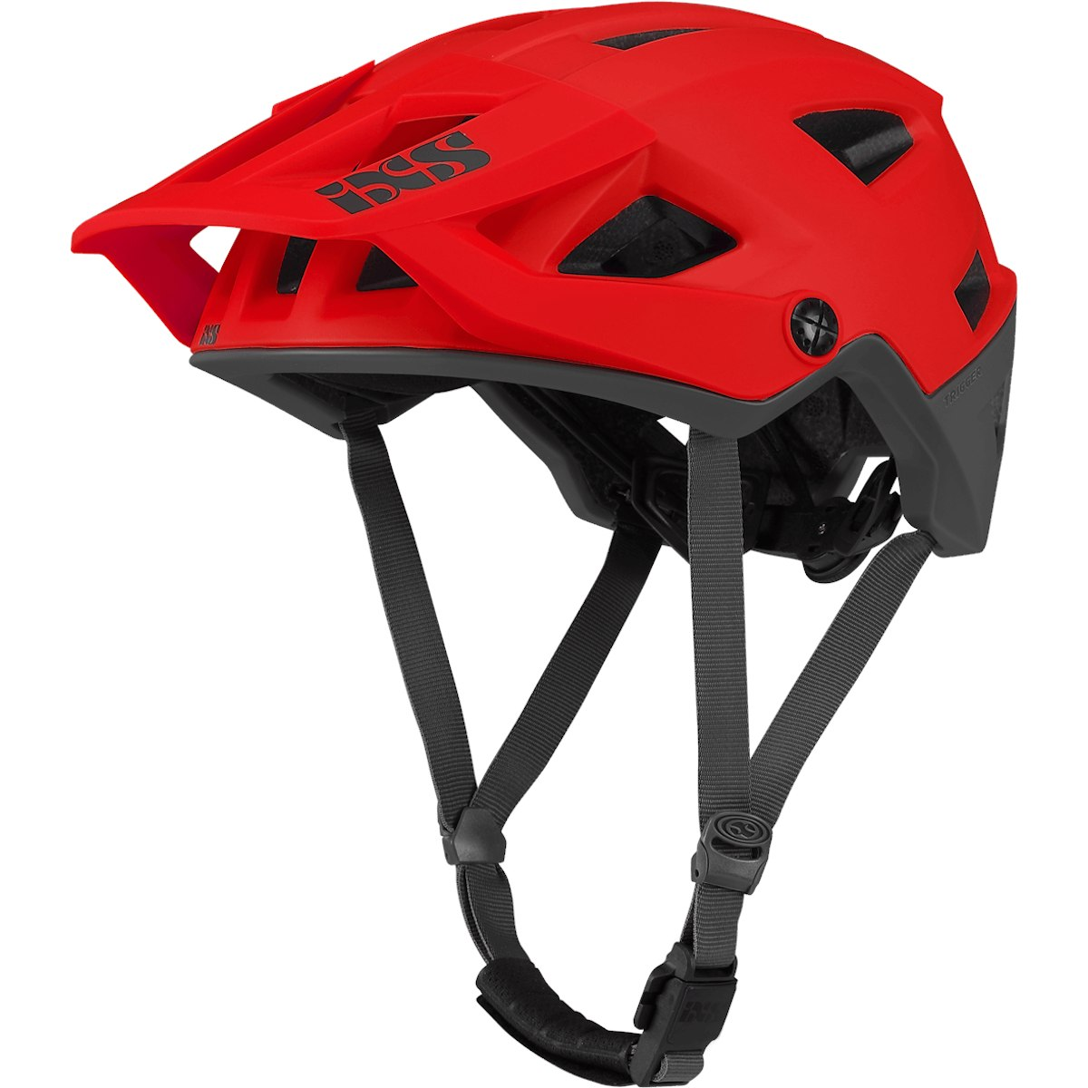 iXS Trigger All-Mountain Helm - fluor red