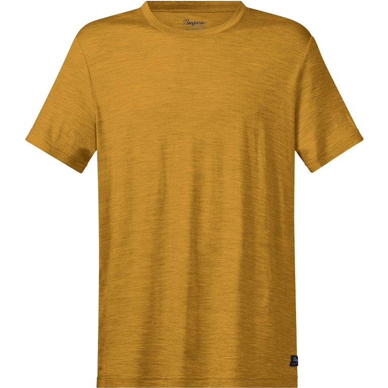 Bergans Oslo Wool Tee - mustard yellow