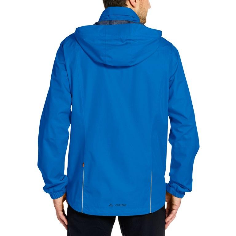 Image of Vaude Men's Escape Bike Light Jacket - radiate blue