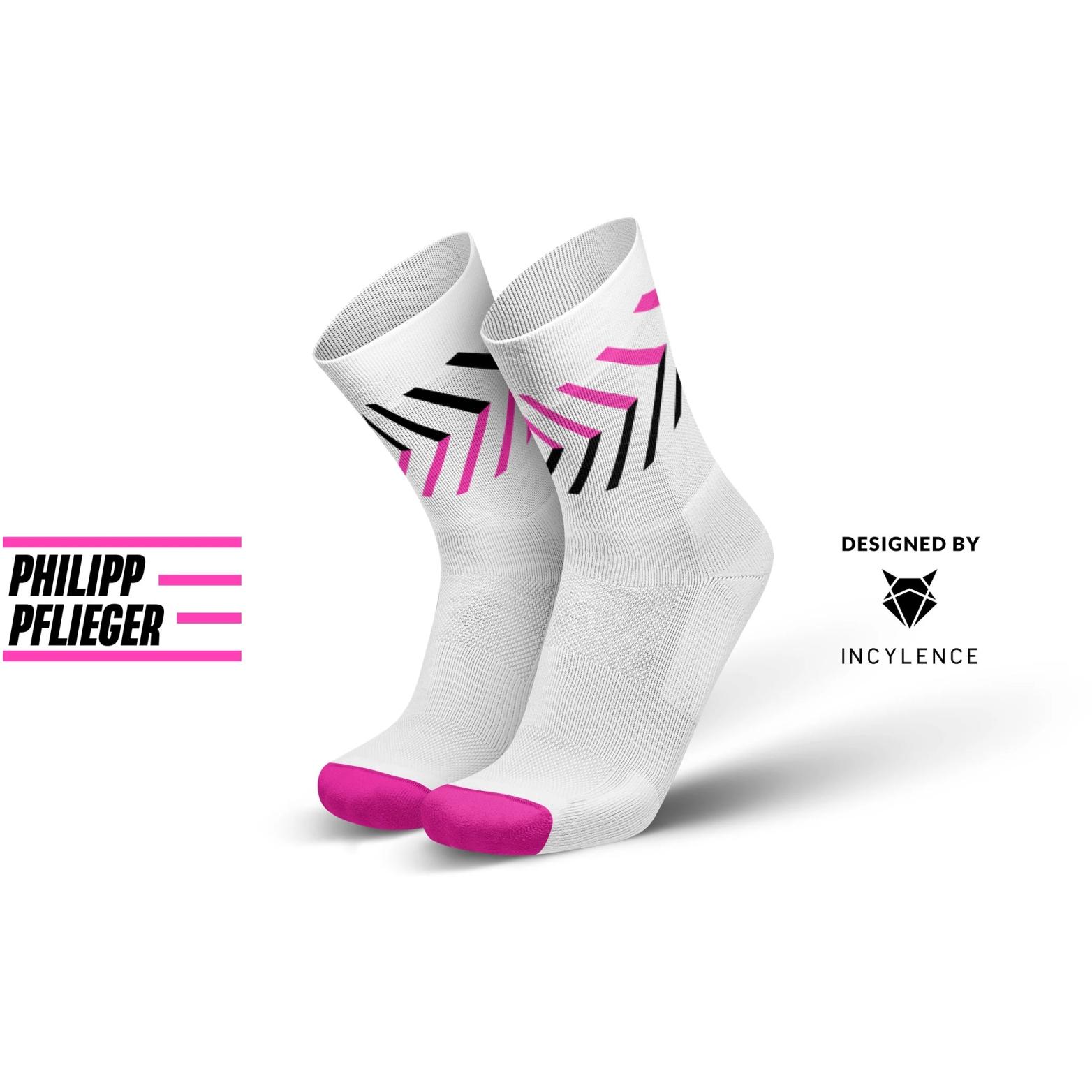 Produktbild von INCYLENCE Running Philipp Pflieger Racing Socken - White