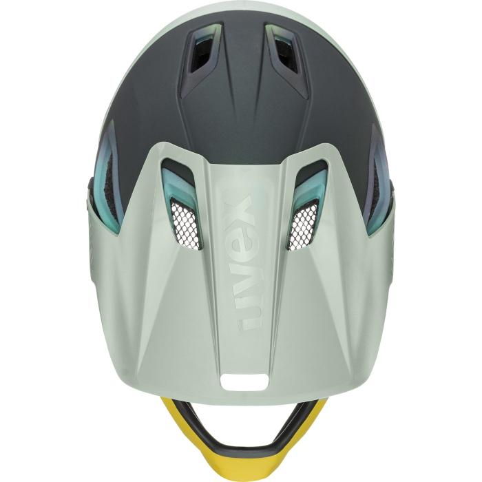 Image of Uvex jakkyl hde 2.0 Helmet - forest - mustard mat