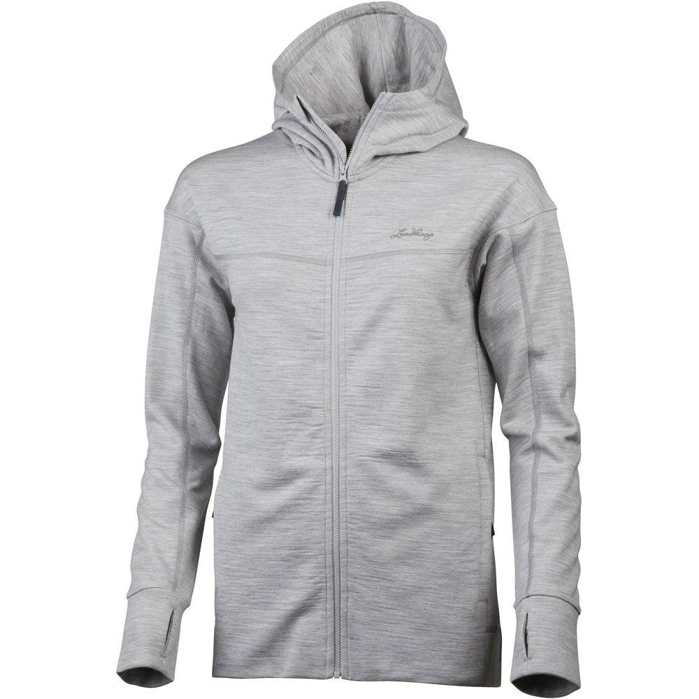 Lundhags Ullto Merino Women's Hoodie - Light Grey 829