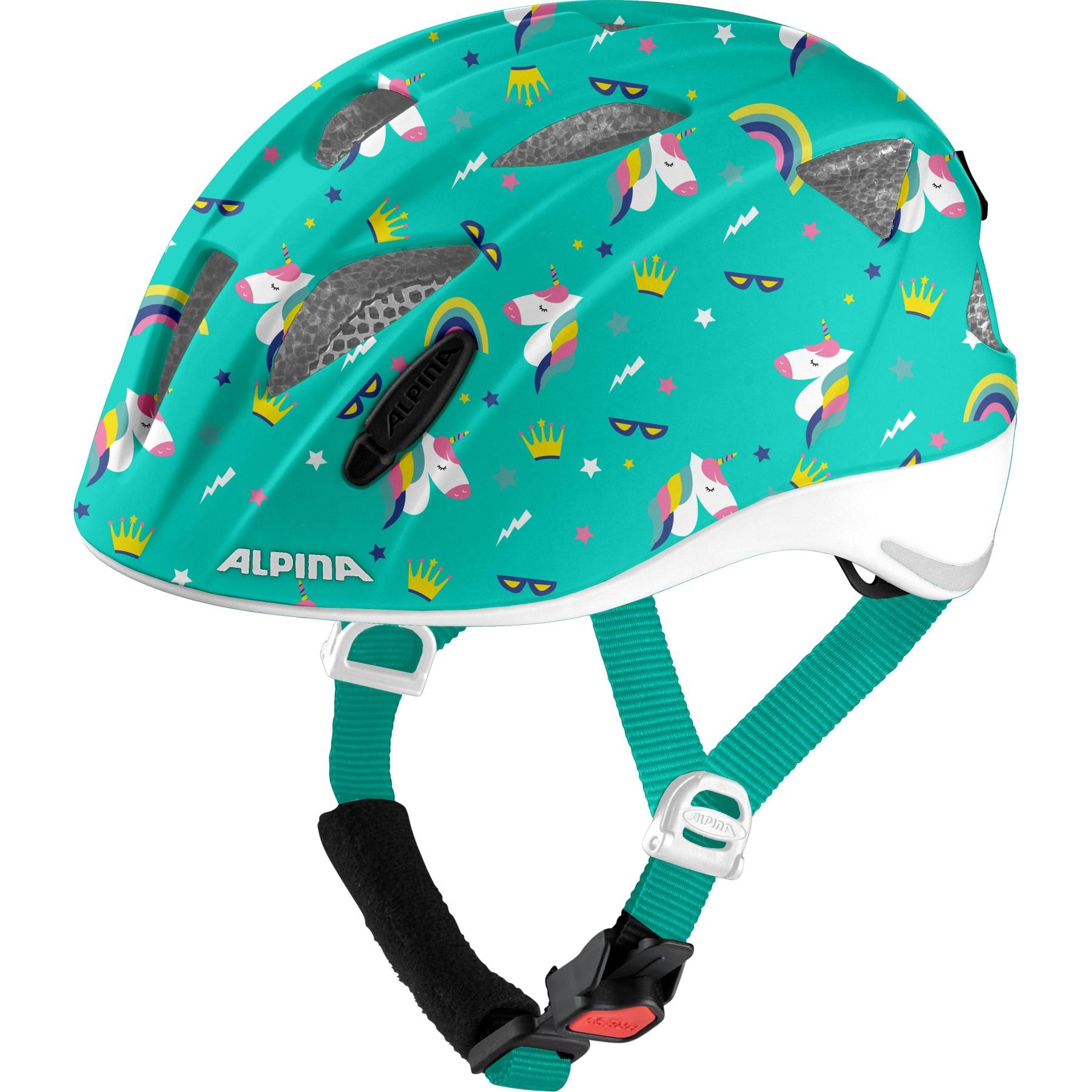 Alpina Ximo Flash Kids Helmet - unicorn gloss