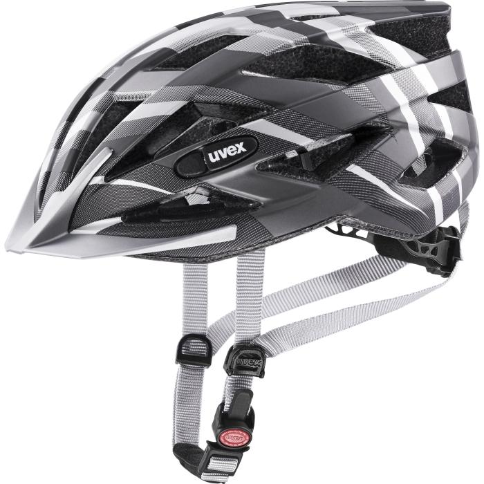 Uvex air wing cc Helmet - black - silver mat