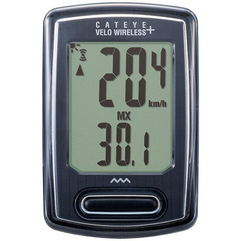 Cat Eye Velo Wireless+ CC-VT235 W Cycle Computer - black