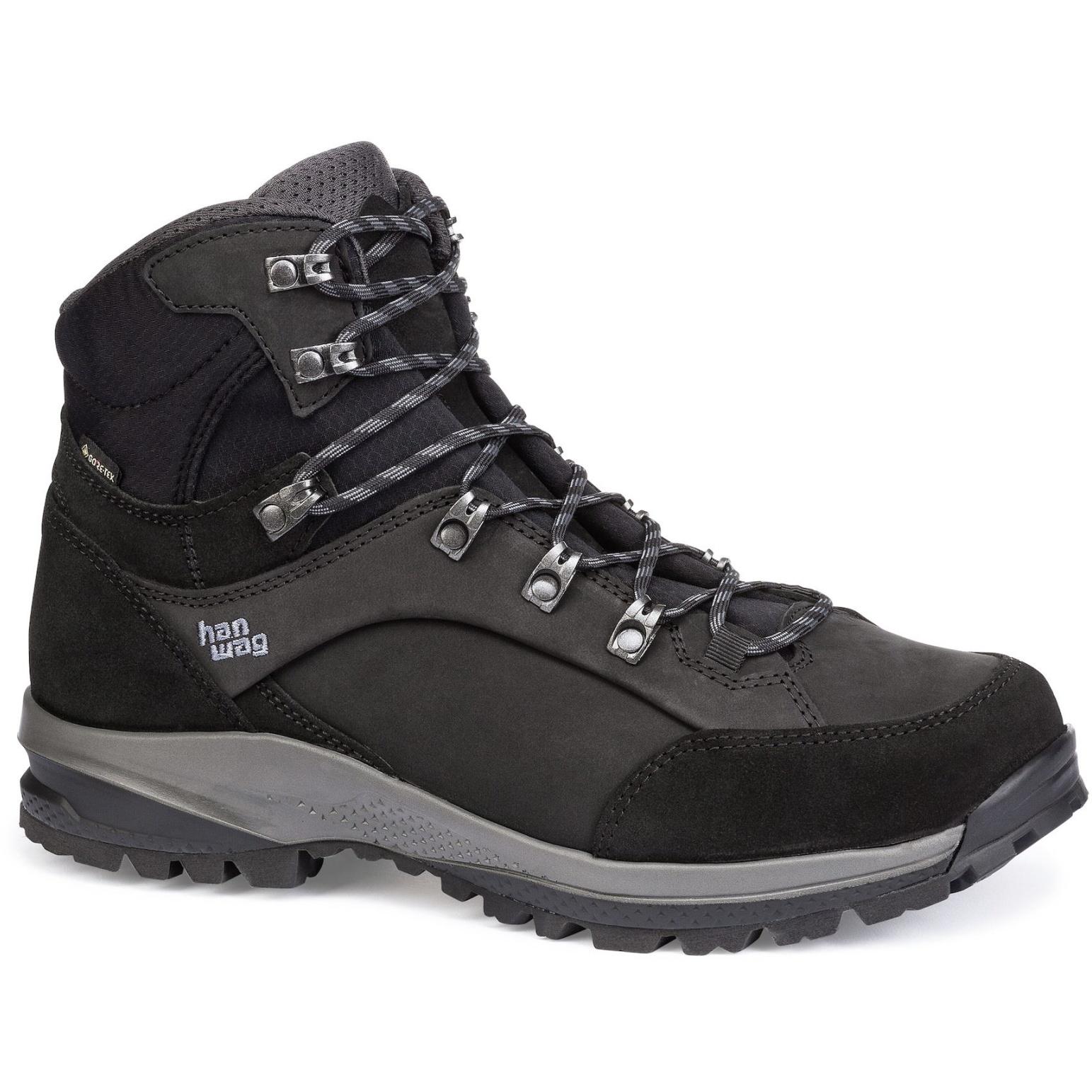 Hanwag Banks SF Extra GTX Shoe - Black/Asphalt