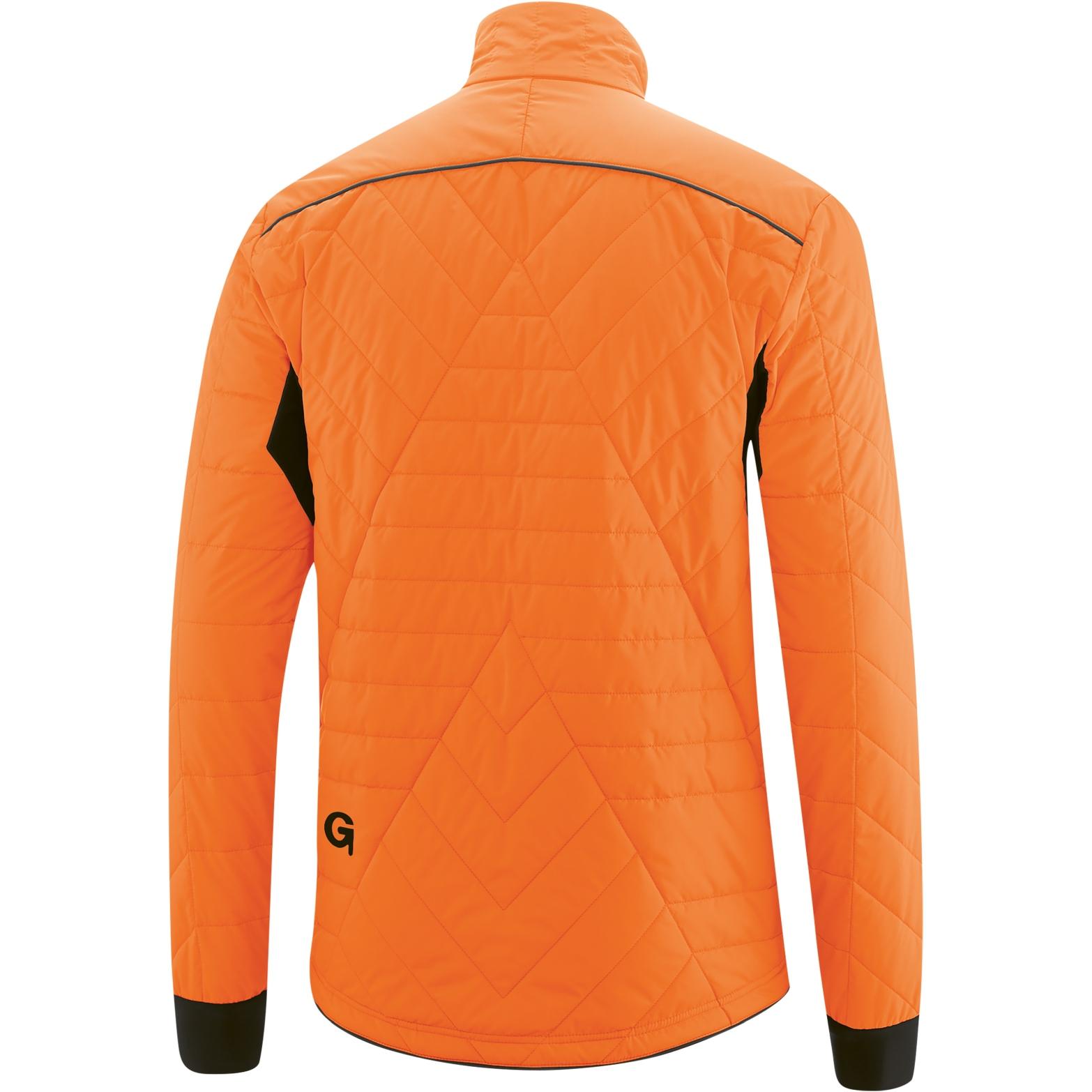 Image of Gonso Mula Men's Primaloft Commuter Jacket - Red Orange