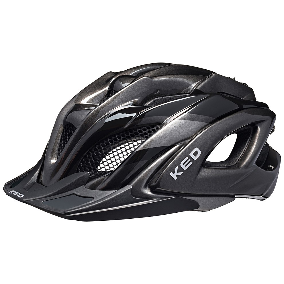 KED Neo Visor Helmet XL - black anthracite
