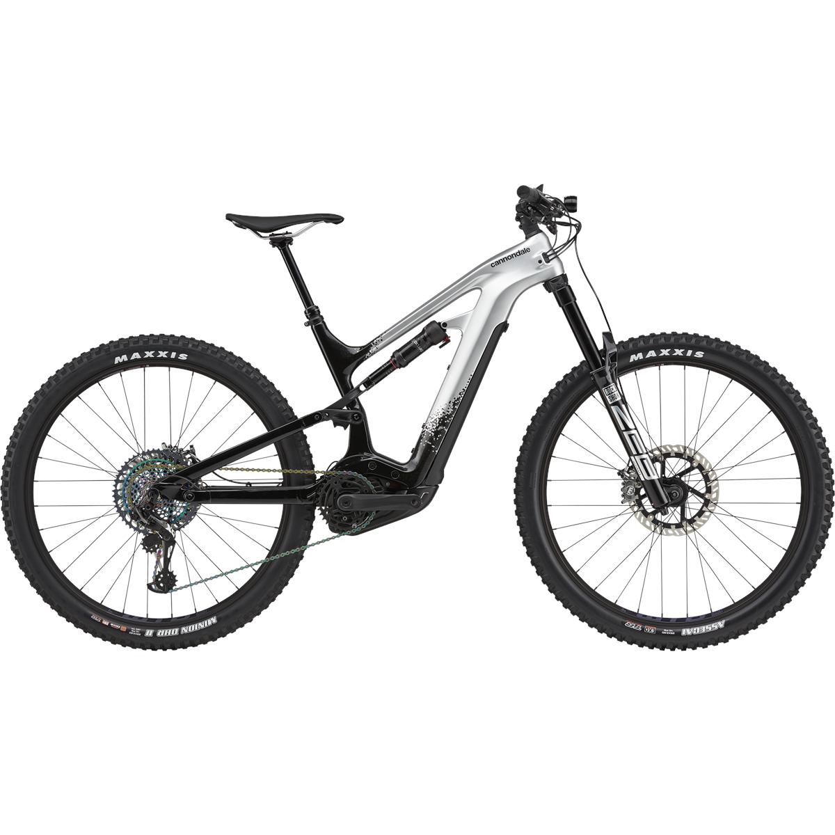 "Cannondale MOTERRA NEO Carbon 1 - 29"" MTB E-Bike - 2021 - Mercury"
