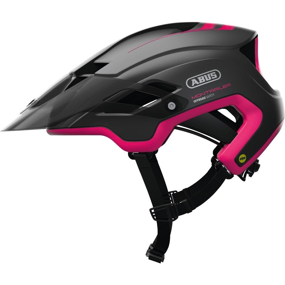 ABUS MonTrailer Mips Helmet - fuchsia pink