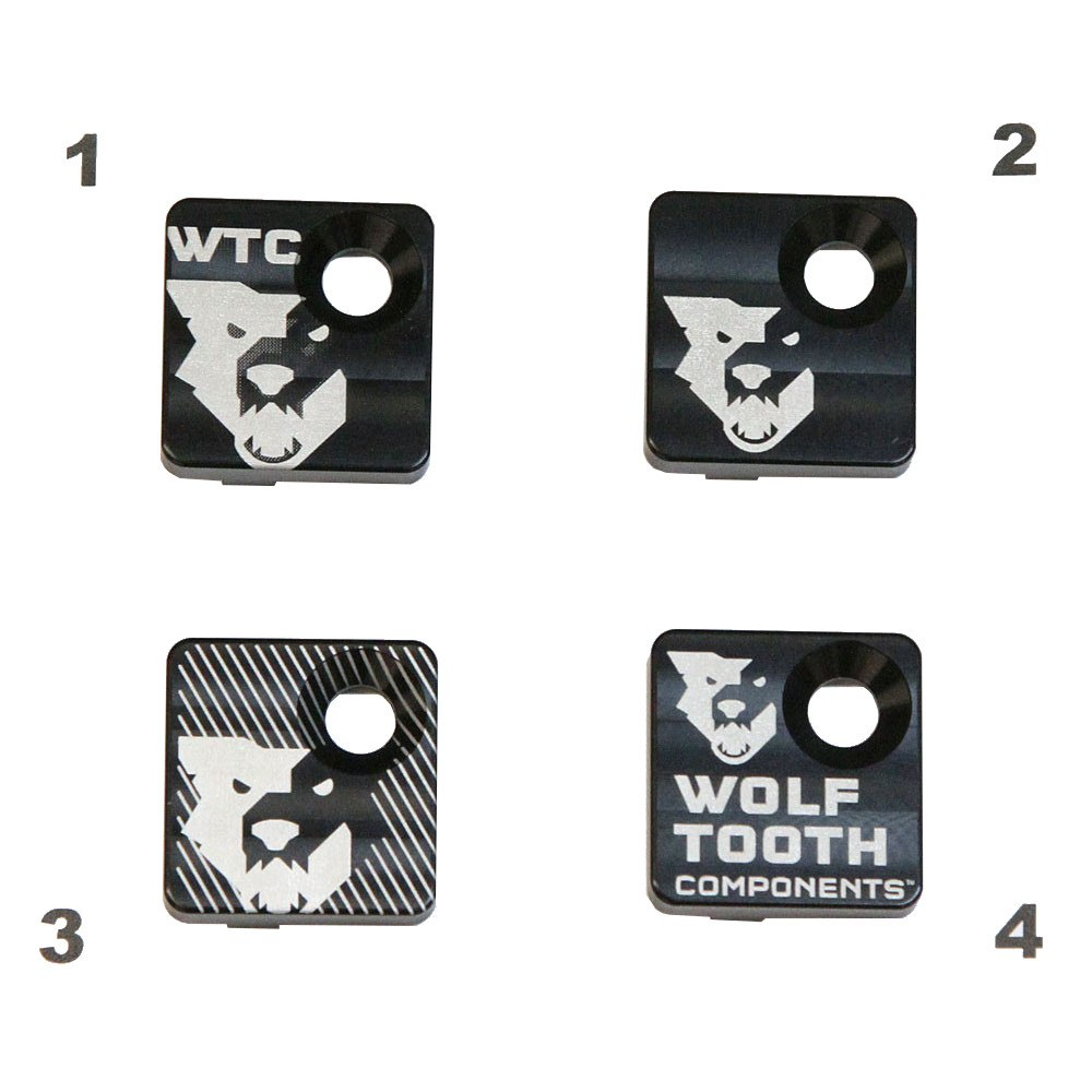 Wolf Tooth Front Derailleur Mount Cover - black