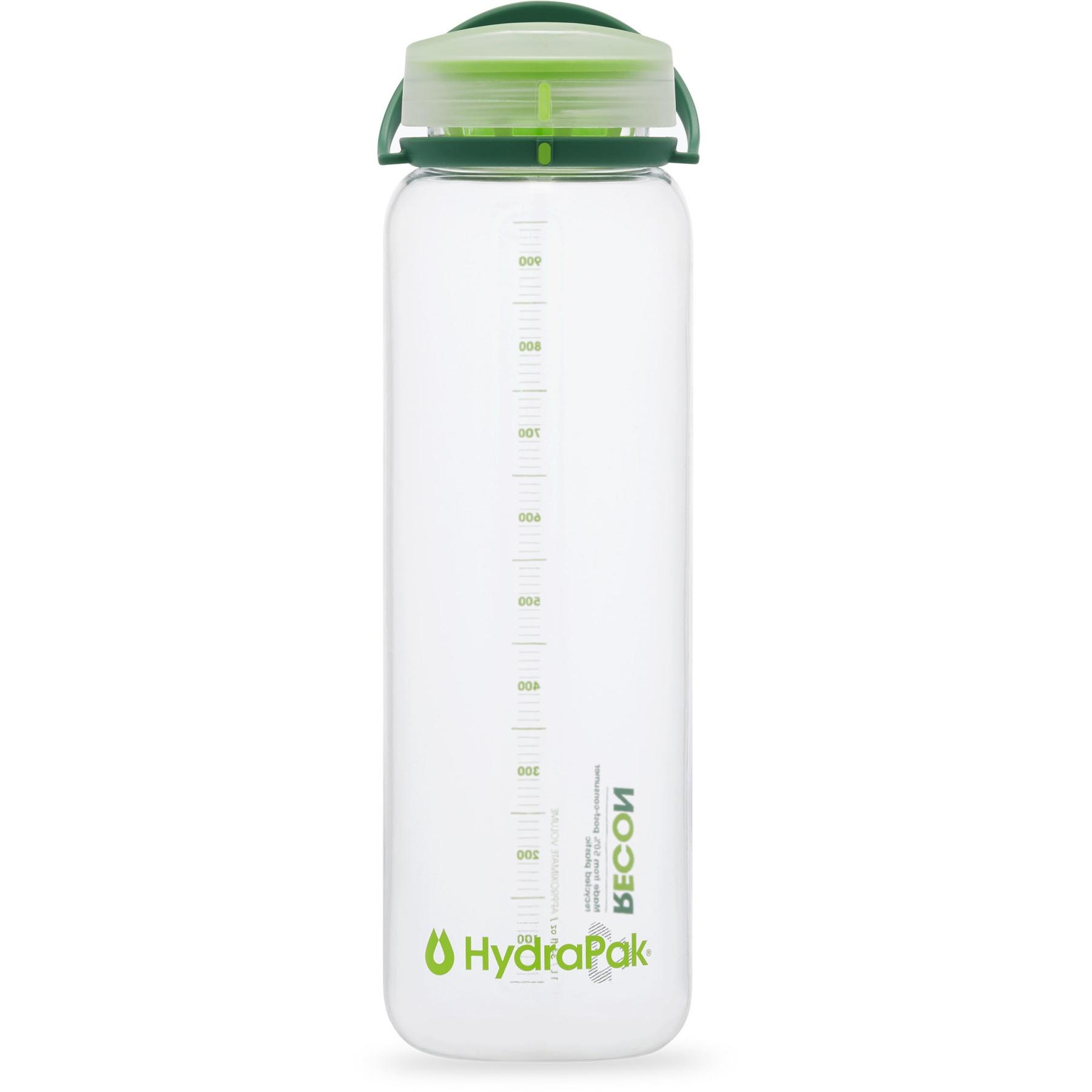 Produktbild von Hydrapak Recon™ 1L Faltflasche - Clear/Evergreen/Lime