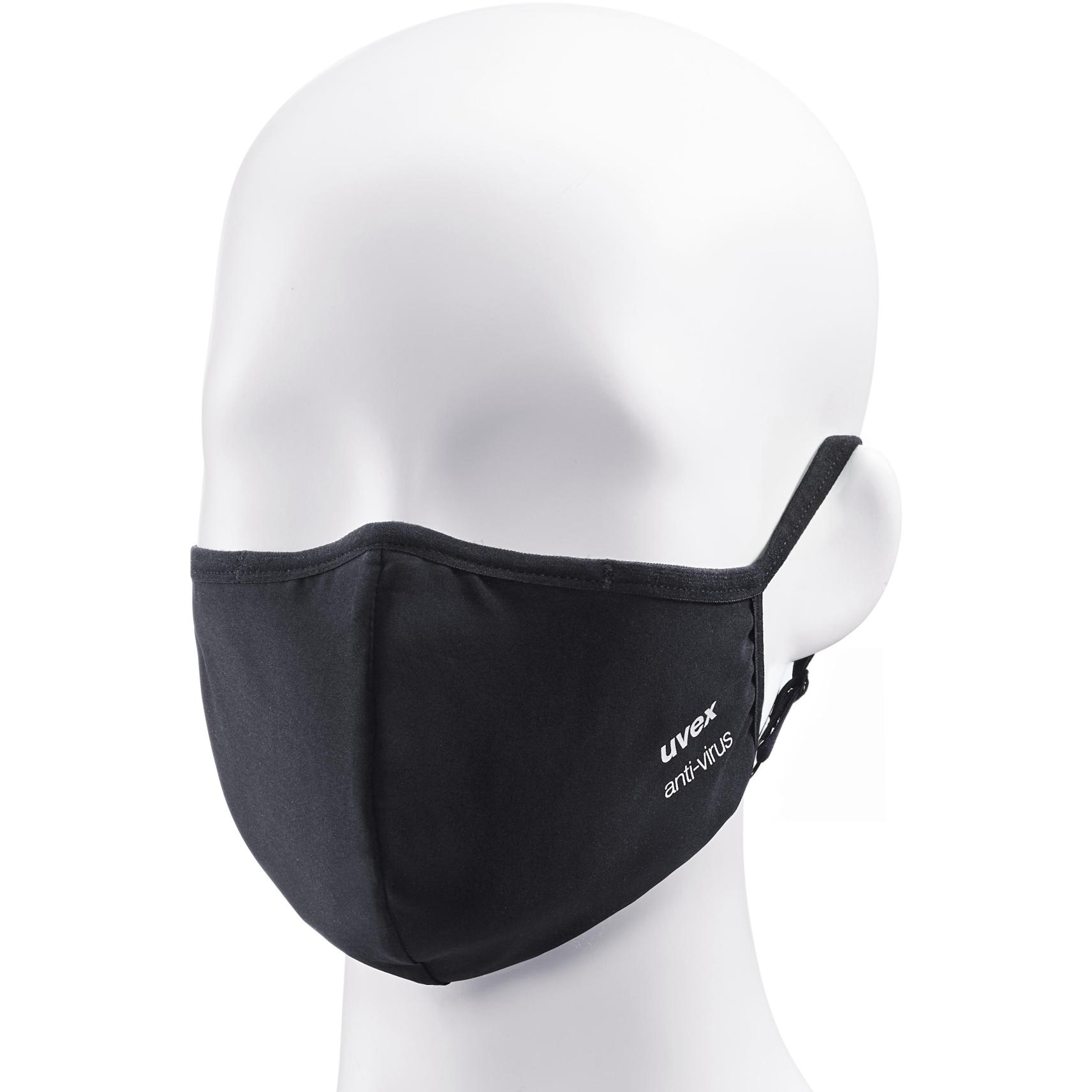 Image of Uvex anti-virus Face Mask - black