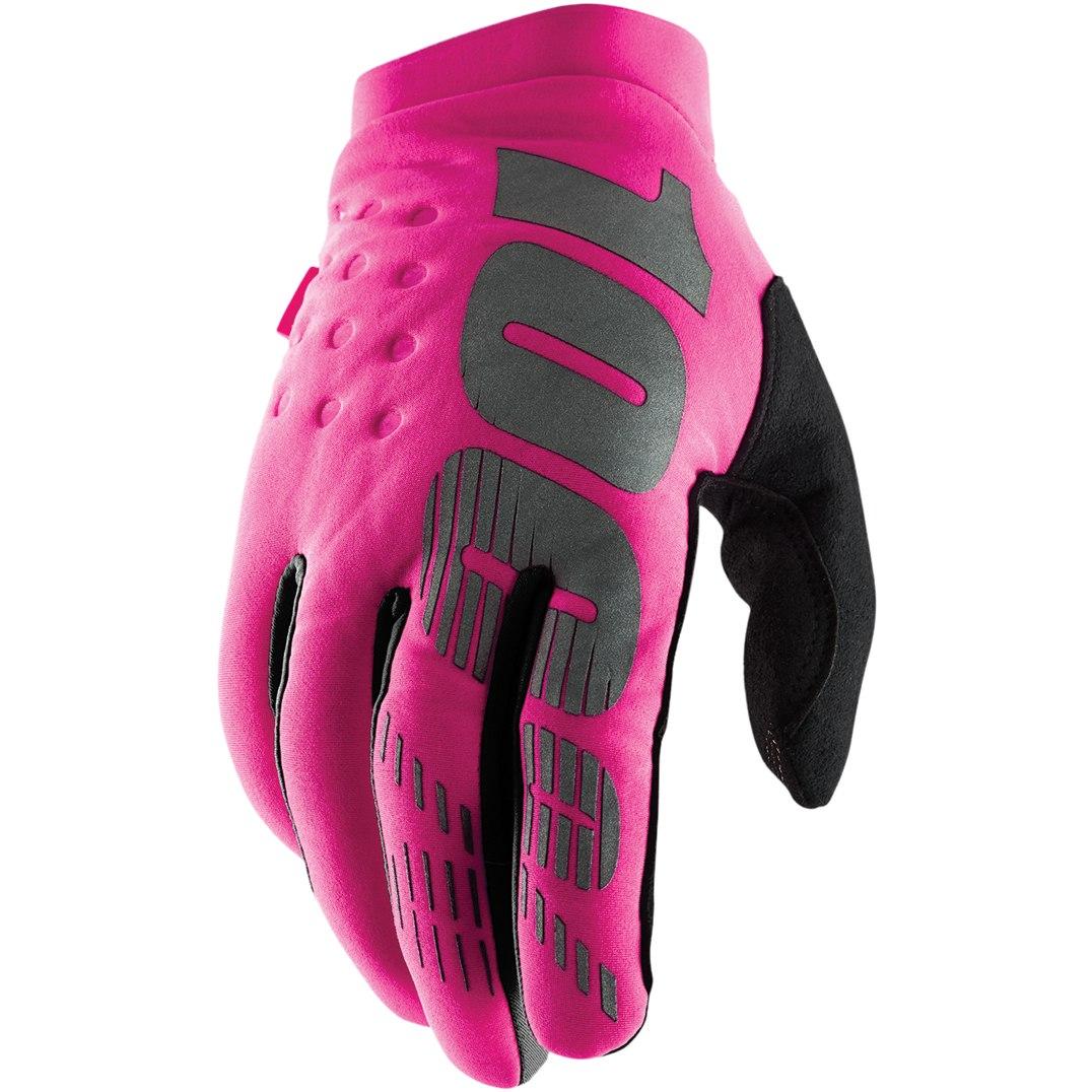 Imagen de 100% Brisker Cold Weather Women's Glove - Neon Pink/Black