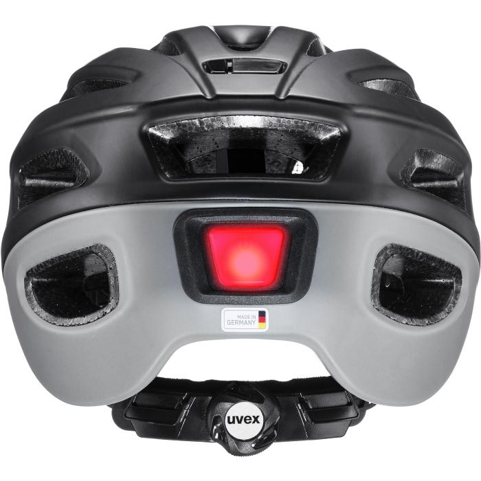 Image of Uvex true cc Helmet - black - grey mat