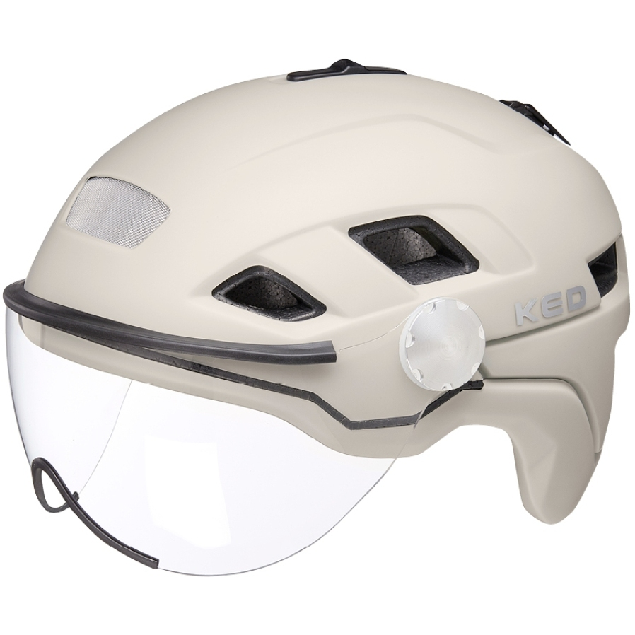 KED B-Vis X-Lite Helm - ash matt