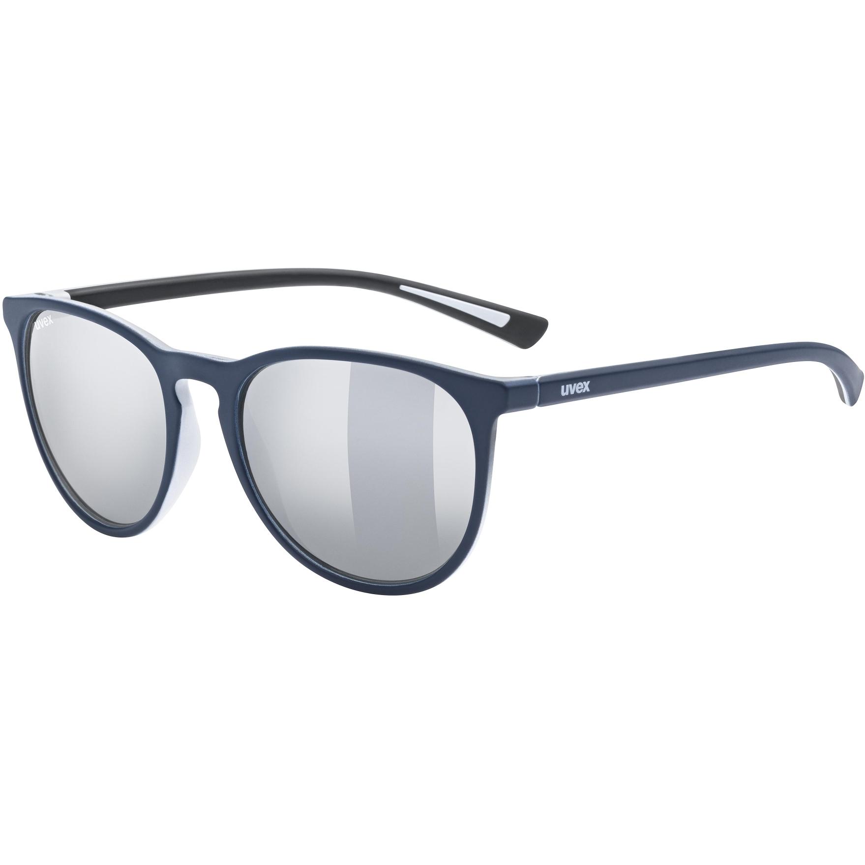 Uvex lgl 43 Brille - blue mat/litemirror silver