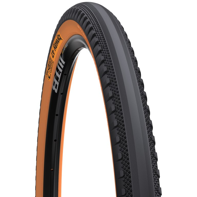 WTB ByWay Road Plus TCS Folding Tire - 47-584 - black-tan