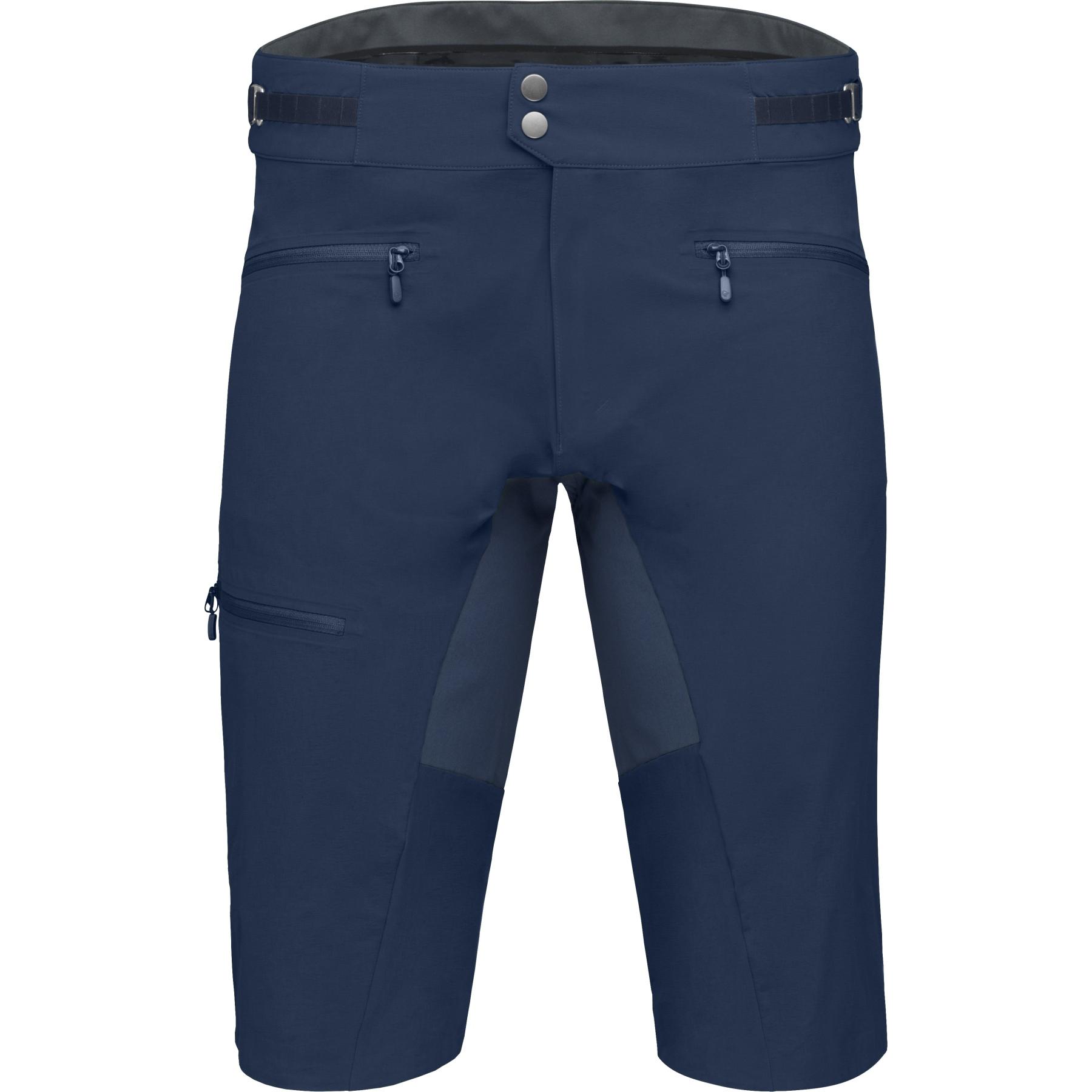 Norrona fjora flex1 mid weight Pantalones cortos para hombres - Indigo Night