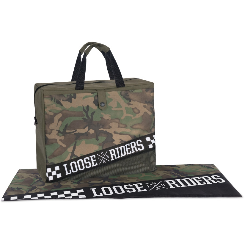 Image of Loose Riders Dirtbag - Forest Camo