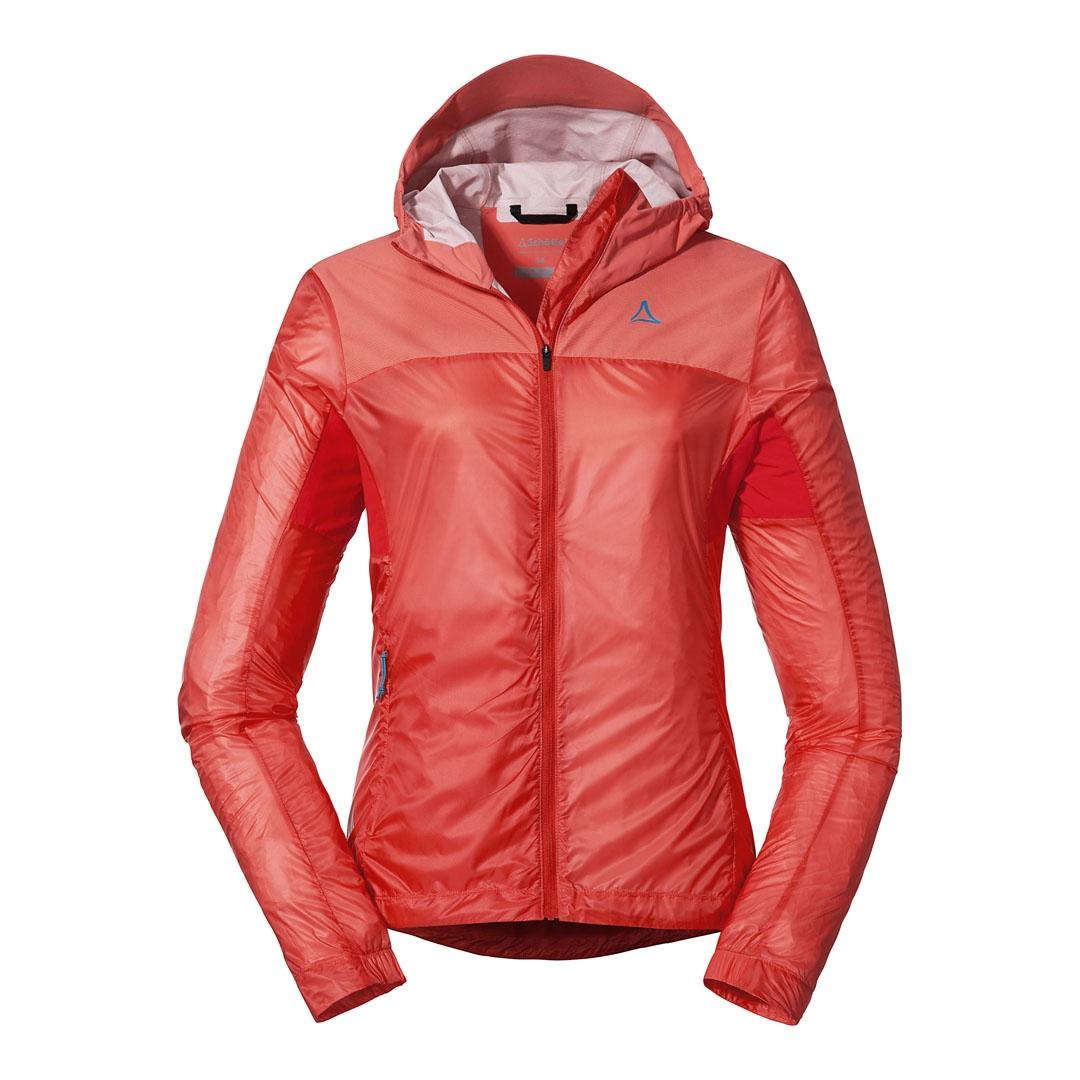 Schöffel Hybrid Flow Trail Jacket Women - georgia peach 3460
