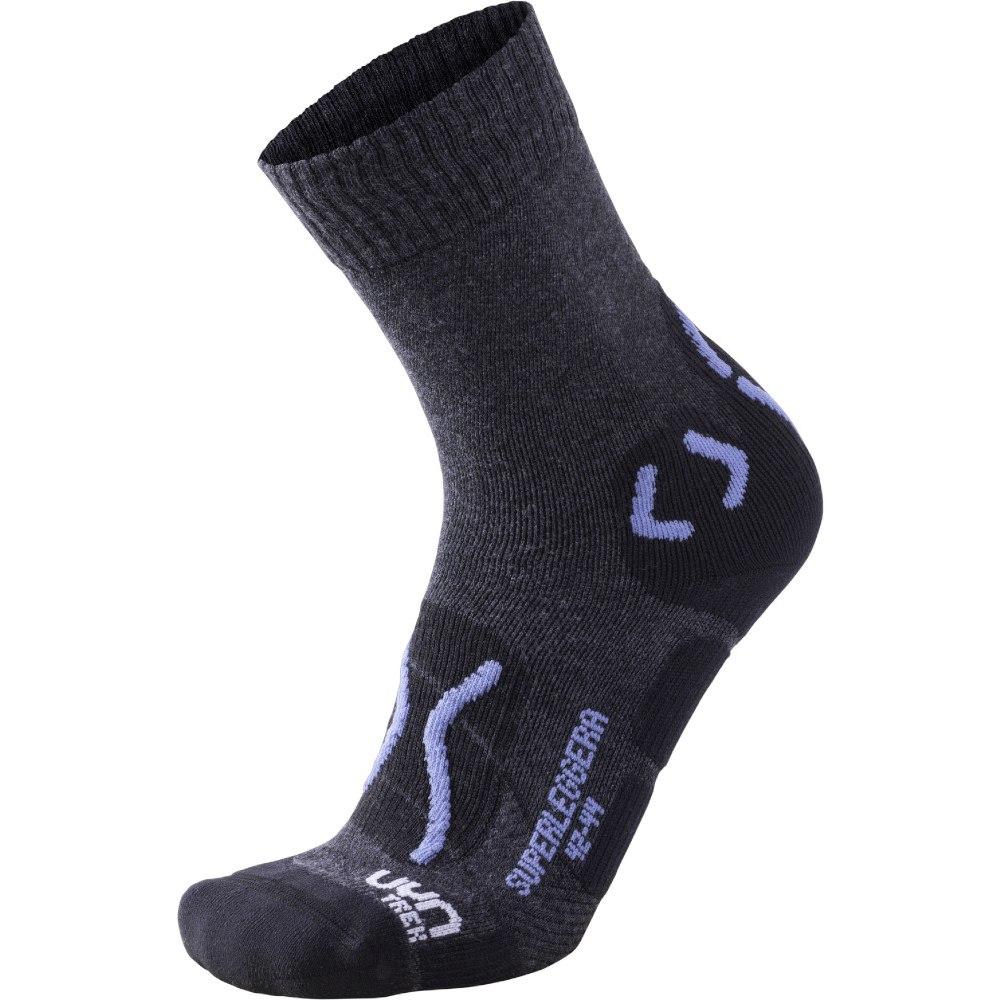 UYN Trekking Superleggera Socken - Anthracite/Avio