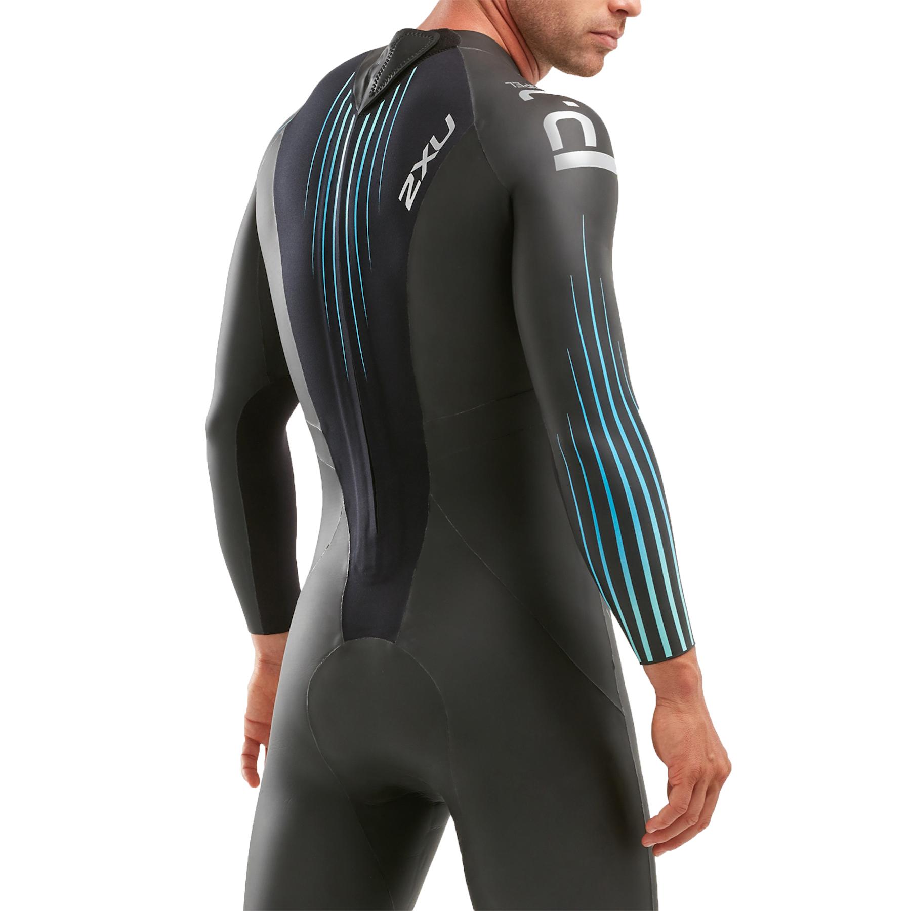 Image of 2XU P:1 Propel Wetsuit - black/blue ombre