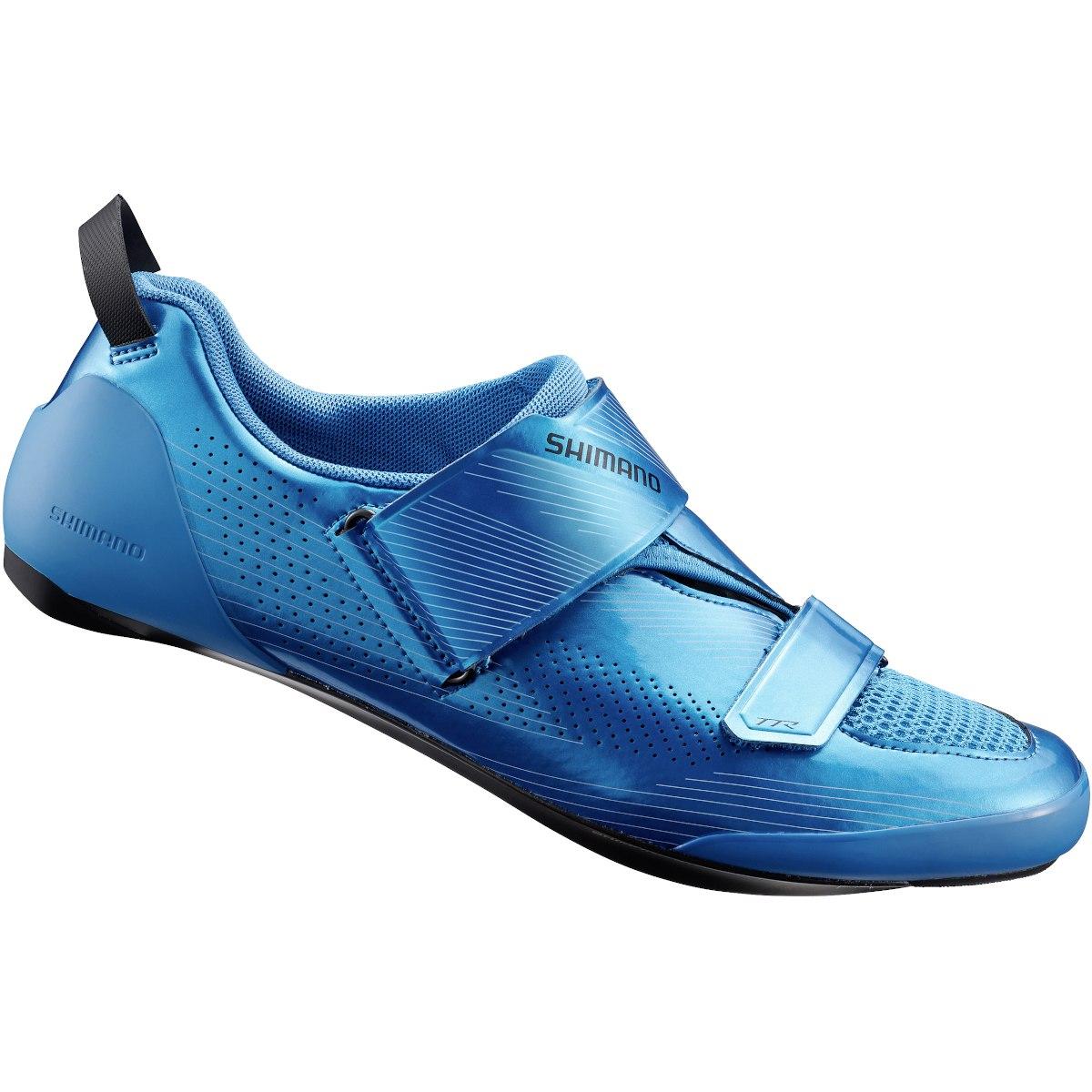 Produktbild von Shimano SH-TR901 Triathlonschuh - blue