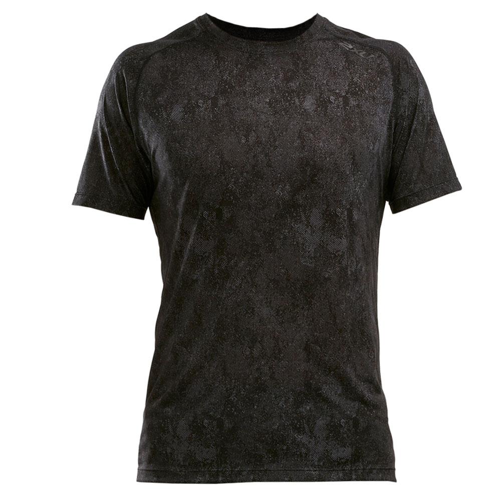 Imagen de 2XU GHST Short Sleeve Tee - black/corrosion