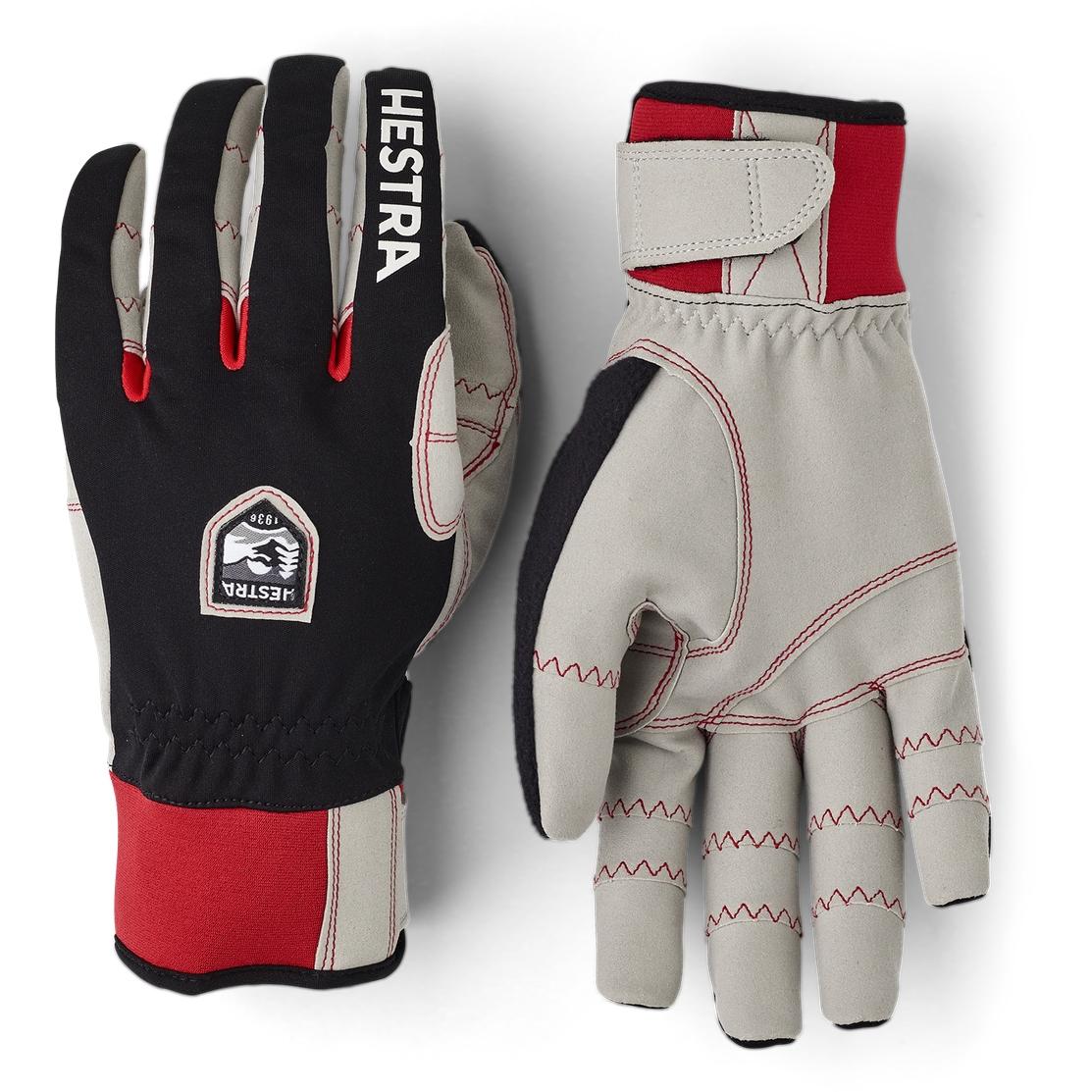Picture of Hestra Ergo Grip Windstopper Race - 5 Finger Cross Country Gloves - black