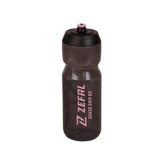 Zéfal Sense Grip 80 Trinkflasche 800ml - smoked black/pink