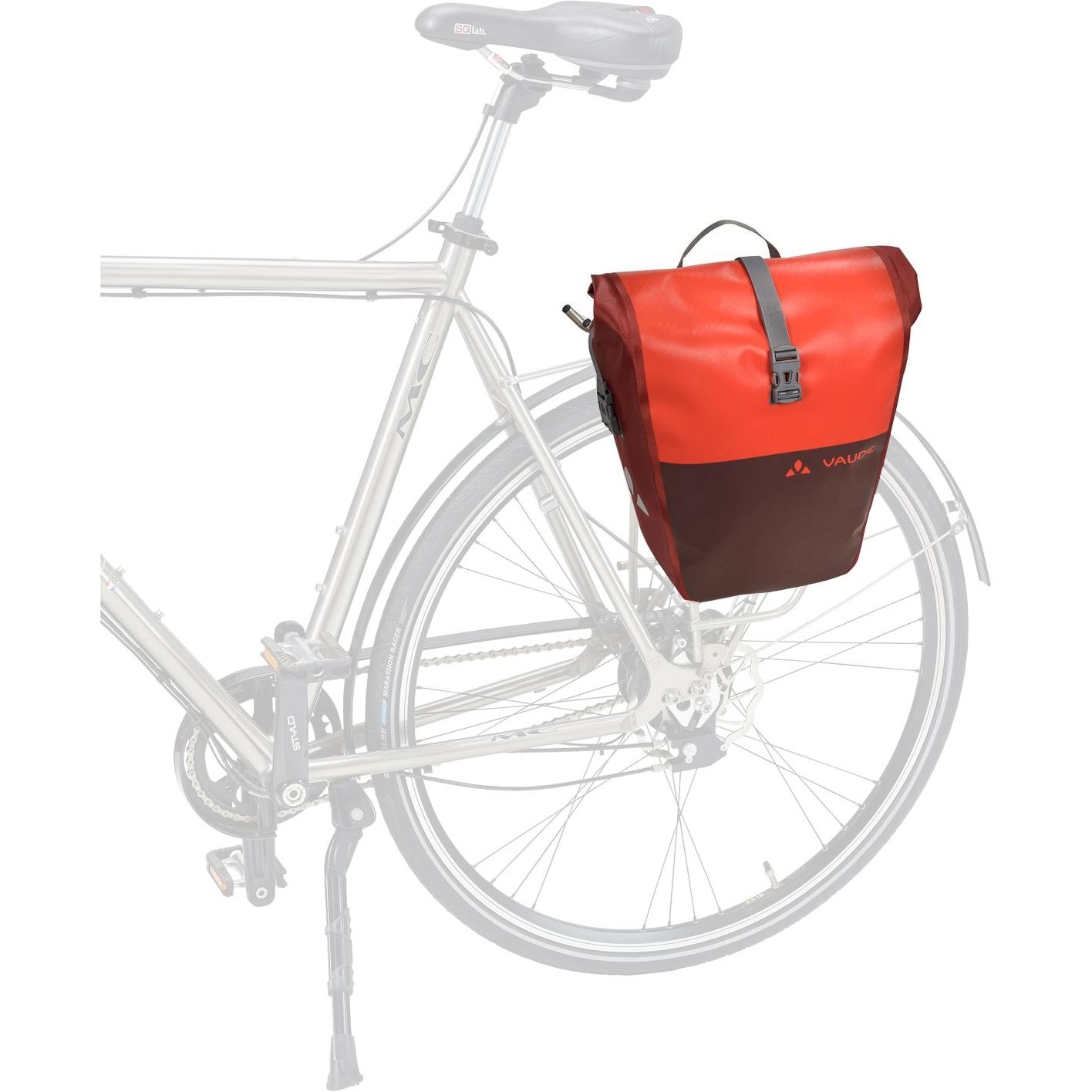 Image of Vaude Aqua Back Color Bike Pannier (Pair) - bright green