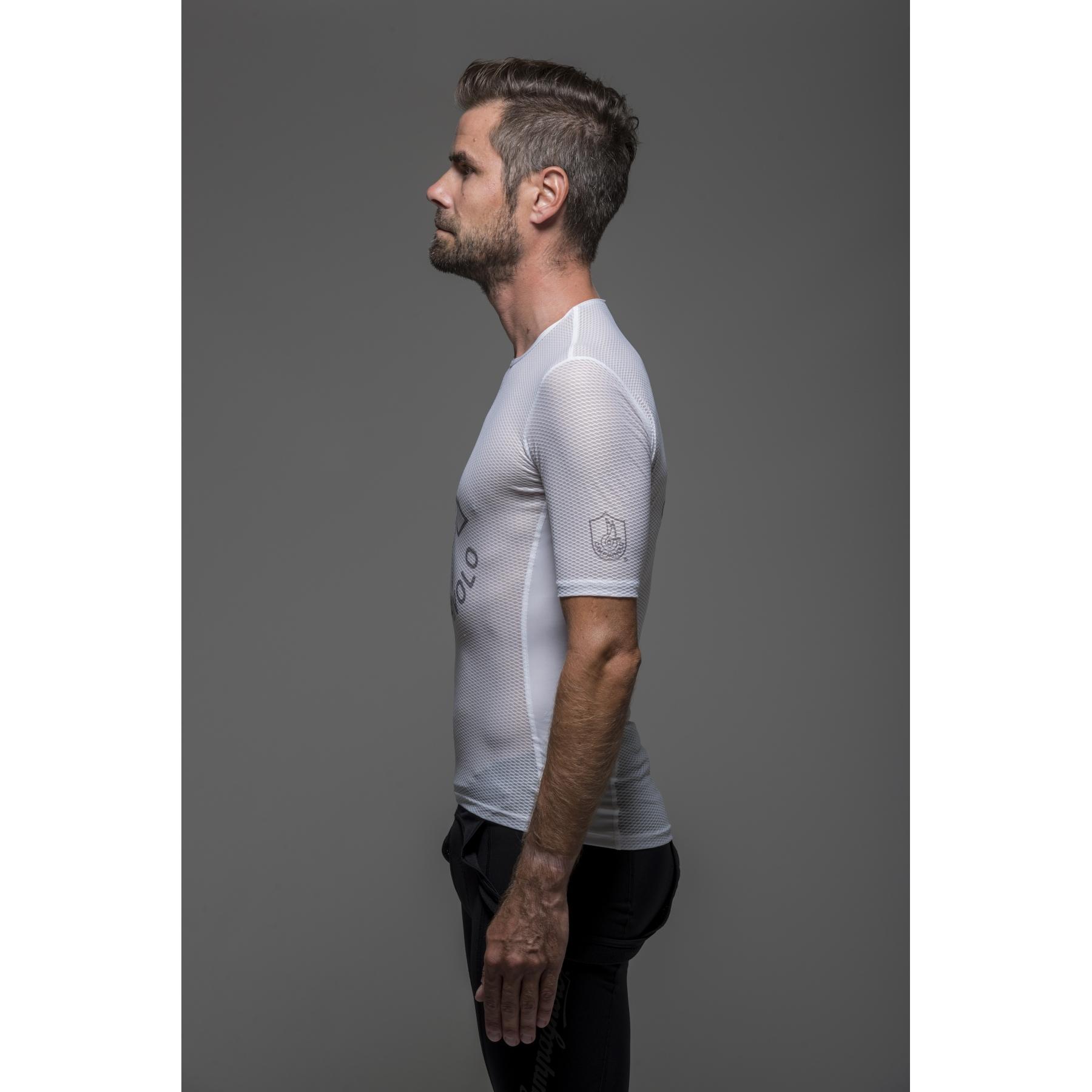 Image of Campagnolo Litech Mesh Base Layer Undershirt - white