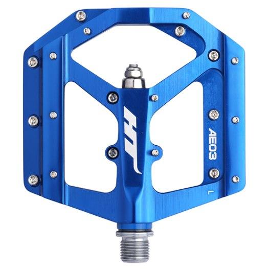 Produktbild von HT AE03 EVO+ Flat Pedal Aluminium - marineblau