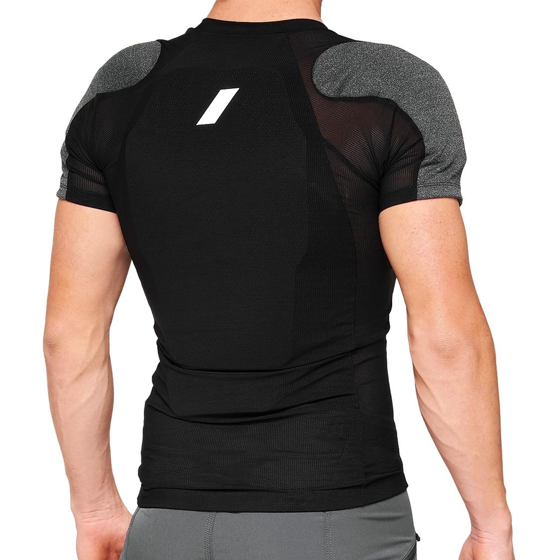 Imagen de 100% Tarka Short Sleeve Protection Chaleco - negro