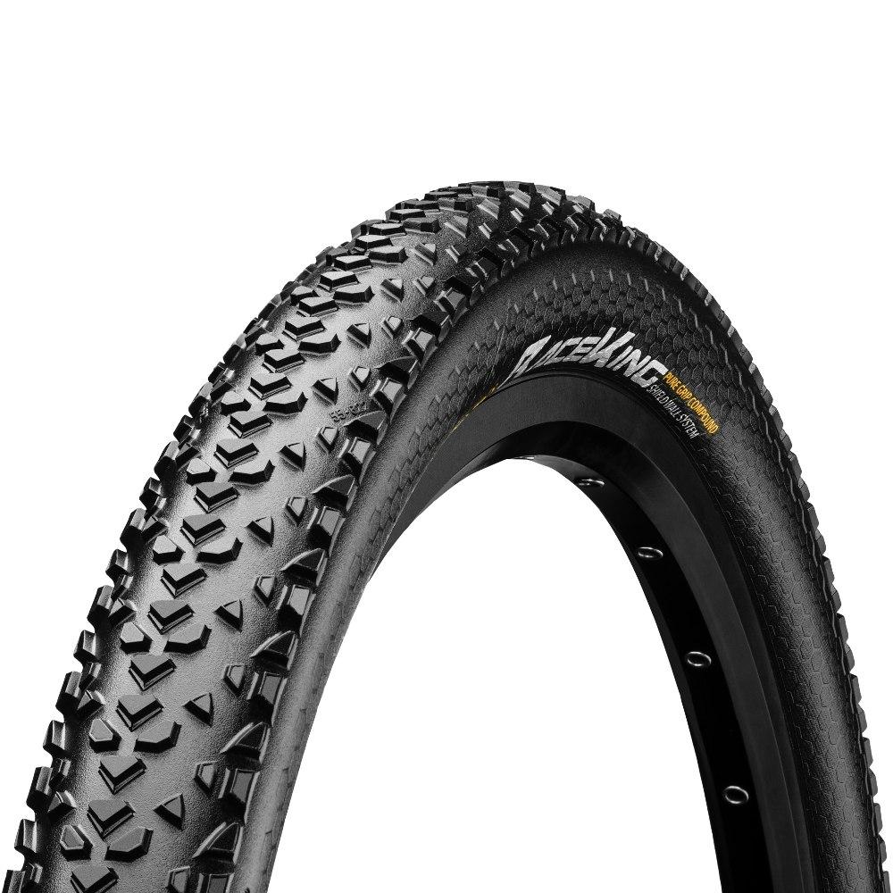 Continental Race King Shield Wall - MTB Folding Tire - E25 - 26 x 2.2 Inch - black/black