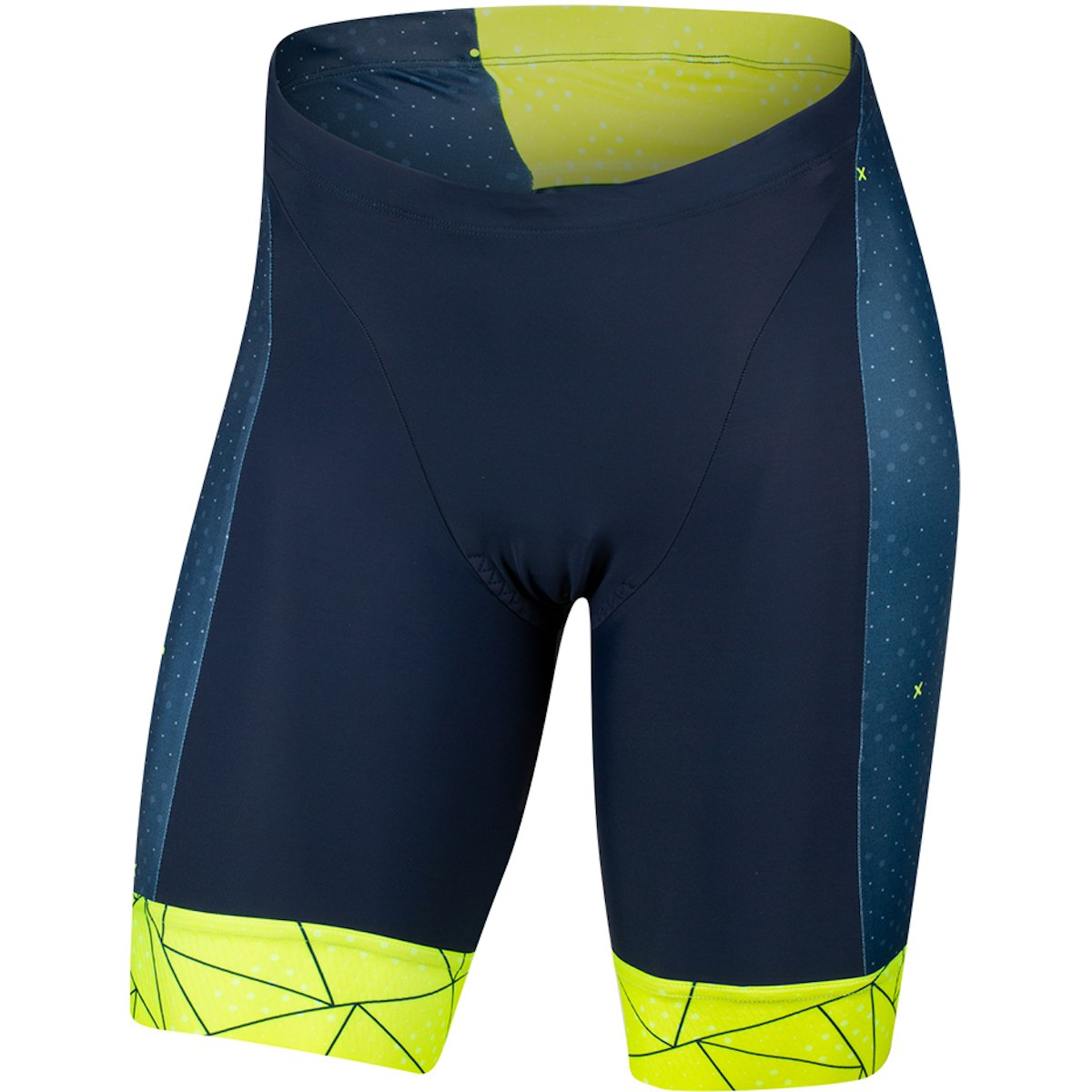 Foto de PEARL iZUMi ELITE Graphic Triatlón Pantalones cortos 13111901 - navy / screaming yellow perplex - 6YS