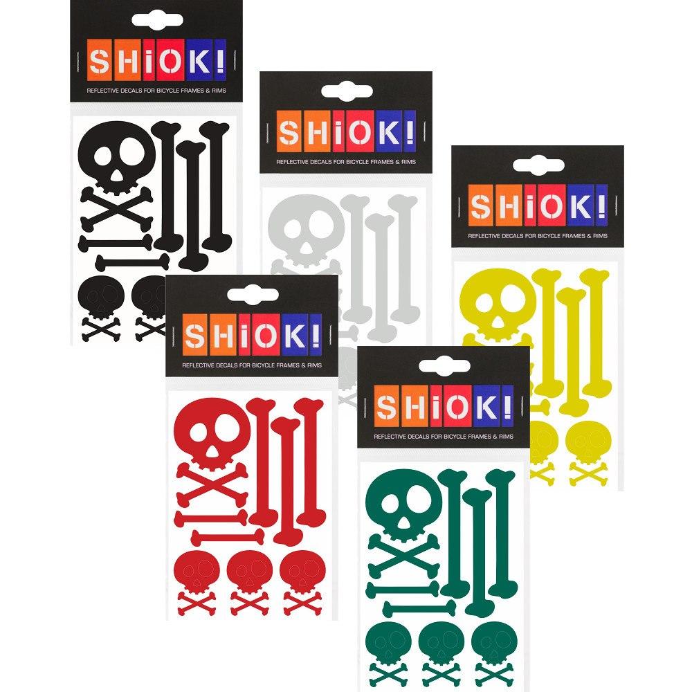 Foto de SHIOK! Reflective Frame Stickers - Skull & Bones