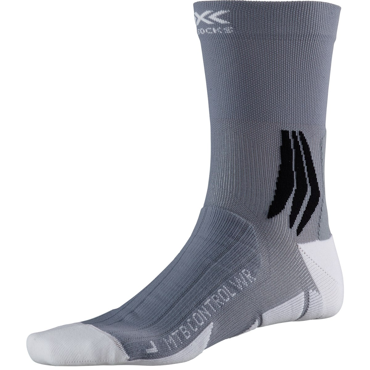 X-Socks MTB Control WR Biking Socken - arctic white/dolomite grey
