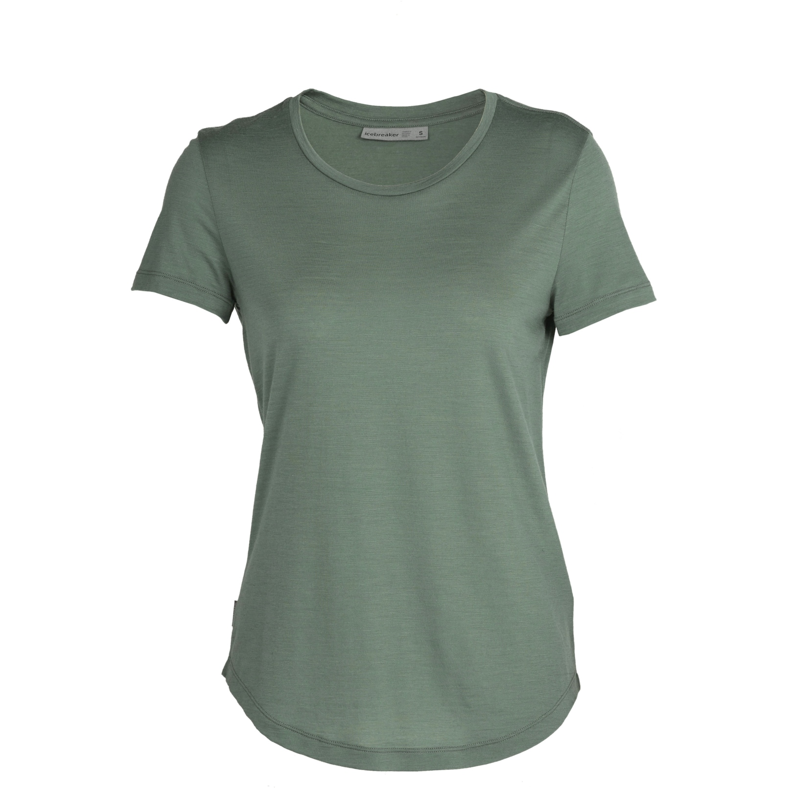 Produktbild von Icebreaker Sphere Low Crewe Damen T-Shirt - Sage