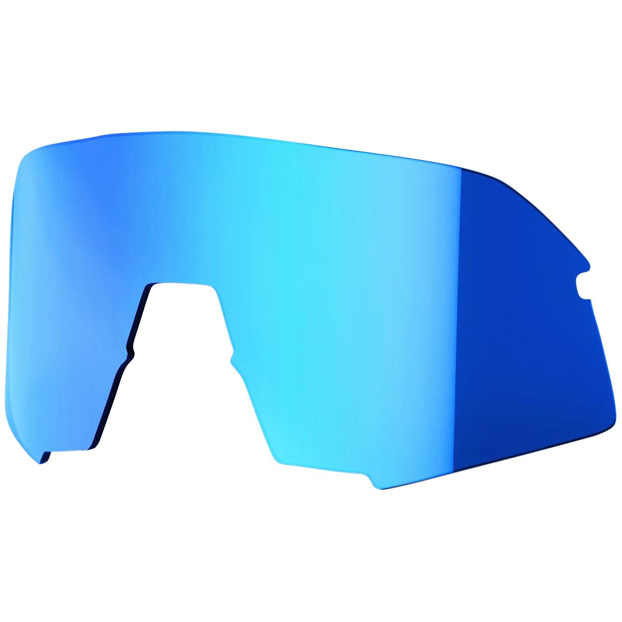 100% S3 Mirror Lente de repuesto - Blue Multilayer Mirror
