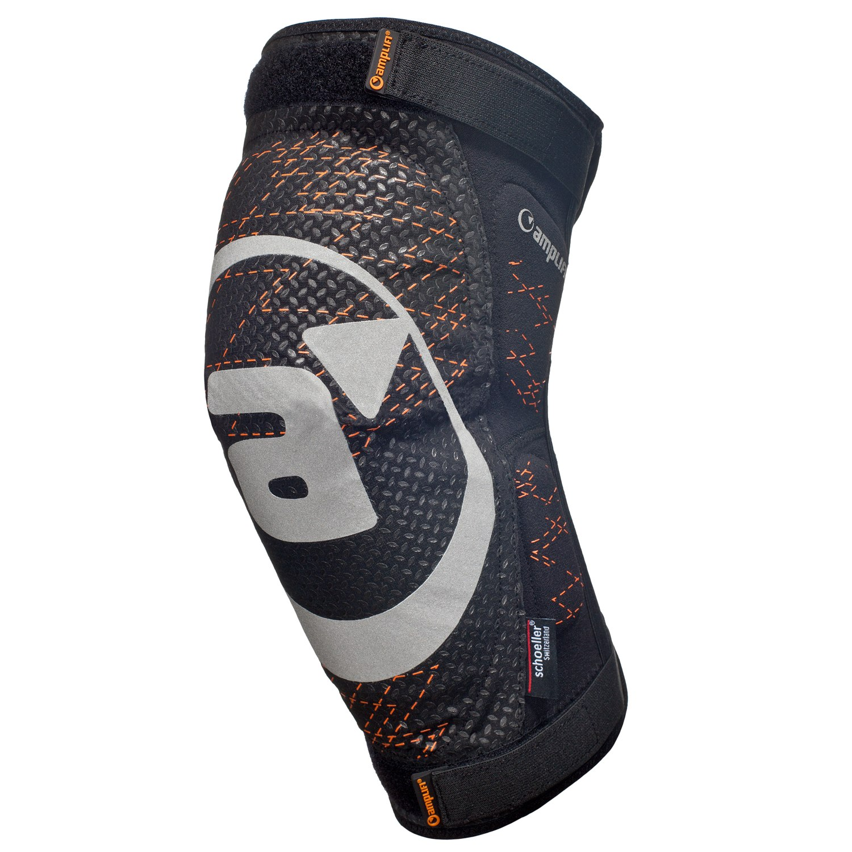 Amplifi Cortex Polymer Knee Protector - black