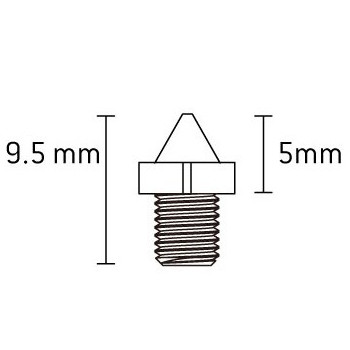 Bild von Xpedo Spike Pins Set (50 Stk)
