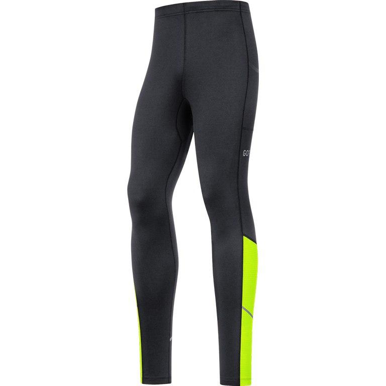 Produktbild von GORE Wear R3 Thermo Tights 100531 - black/neon yellow 9908